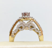 14K Diamond 2 Ring Set