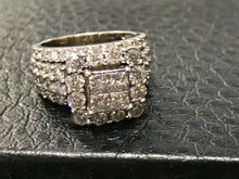 3ct princess cut diamond ring tdw