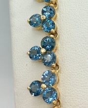 14K Topaz Necklace ( Sold)