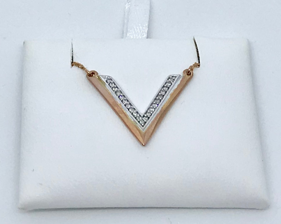 10Kt Pk&W Canadian Diamond Necklace