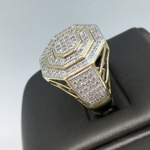 10K Gold 1.25CT TDW Men's Ring TPJR11218YGTRILL
