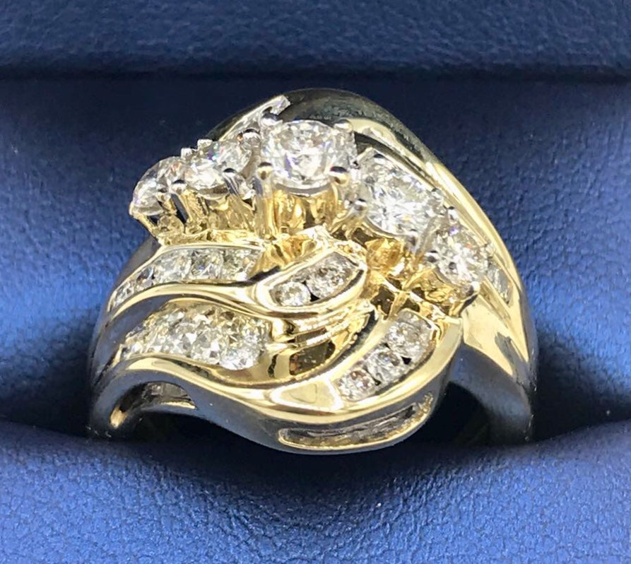 14K 1.65Ct TDW Diamond Ring