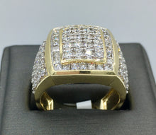 10K yellow gold 3Ct TDW Ring TPJR10791YGTRILL