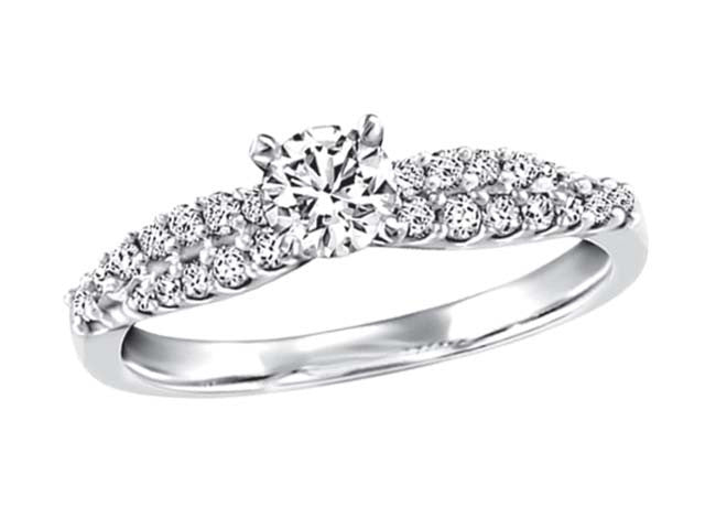.52 total weight anniversary/engagement ring .30 centre stone BH-ERG00001