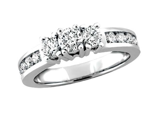 14kt Sparkling Diamond Engagement Ring 0.50ct tw BH-ERG00032
