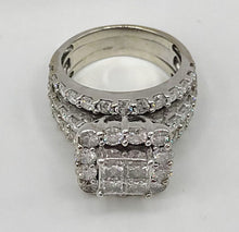 14K White Gold 4.0Ct TDW Ring