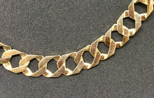 10Kt Yellow Gold One Sided Diamond Cut Curb Link  Chain MON0621173GSJ