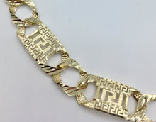 Greek key gold