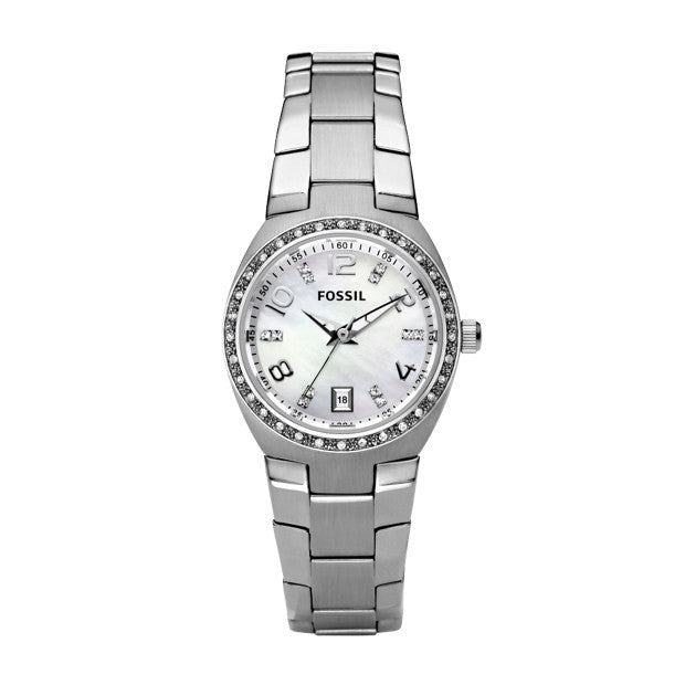 FOSSIL FLASH STAINLESS STEEL AM4141