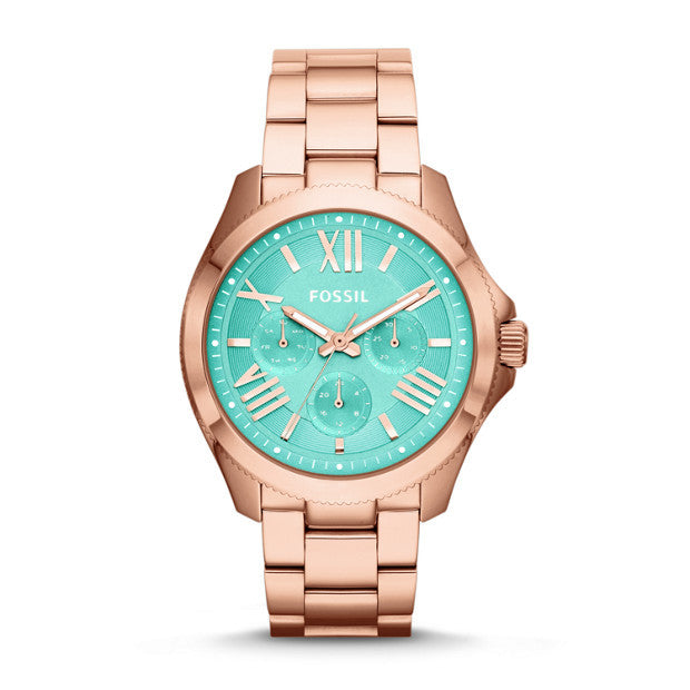 FOSSIL CECILE MULTIFUNCTION ROSE-TONE AM4540