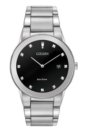 Citizen Eco-Drive Axiom Black Dial AU1060 51G