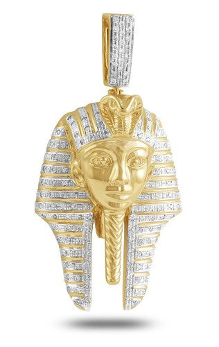 10KY 0.75ctw Diamond Pharaoh Pendant (Pendants)
