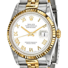 Certified Pre-Owned Rolex Steel/18ky Mens White Dial Watch CRX123QGGSJ