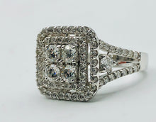 14kt White Gold And 1.50 Ct TWD Diamond Ring