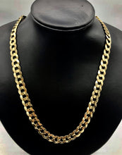 14kt Yellow Gold Curb link chain