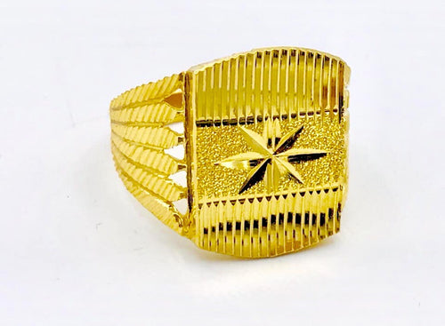 22kt Yellow Gold Men's Ring
