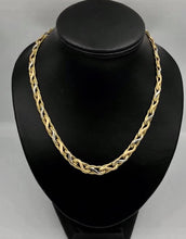 14kt White and Yellow Gold Necklace