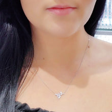 10Kt WG Love necklace
