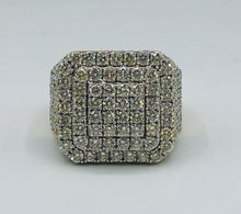 Men's 10kt Yellow Gold And 4.25CT Diamond Ring