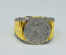 Men's 10kt Yellow Gold And 1.095ct TWD Diamond Ring 19P1311 271