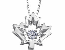Canadian Maple Leaf Pulse Pendant