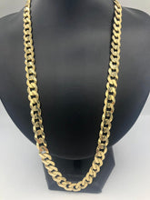 10k yellow Gold Curb Link Chain