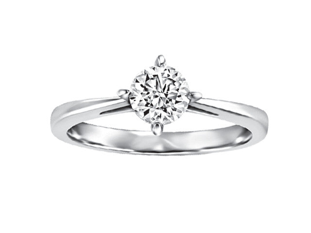 19kt White Gold Solitaire Engagement Ring CWB2411/50-19KDOUPG15