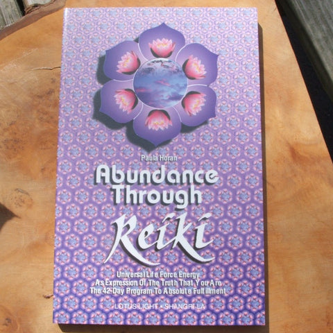 Abundance Through Reiki book Paula Horan
