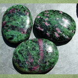 Ruby in Zoisite Palm Stone CRRZPS01