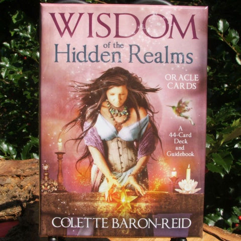 Wisdom of the Hidden Realms Cards- Colette Baron-Reid.