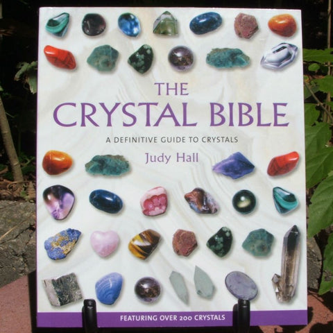 The Crystal Bible Judy Hall