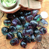 Tumbled Fluorite-High Grade~TUMFLOU