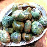 Tumbled Rainforest Rhyolite~TUMRFRH