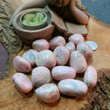 Tumbled Rhodochrosite Medium~TUMRHMD