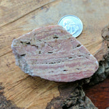 Rhodochrosite Slab End Cut~CRRHSL07