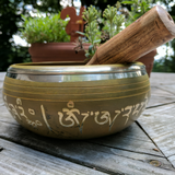 Manjushri Singing Bowl / Meditation Bowl Large 6 inch SHMYSBLG