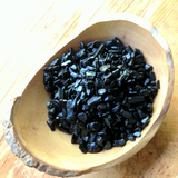 Black Tourmaline Chips~CRBTCHIP