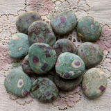 Ruby in Fuchsite Worry Stone~CRRFWS01