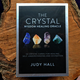 Crystal Wisdom Healing Oracle Cards~ Judy Hall