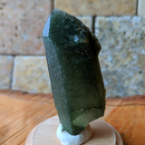 Actinolite In Quartz Crystal~CRACTQ16