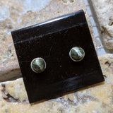Chrysotile in Serpentine Post Earrings~JCHSPER1
