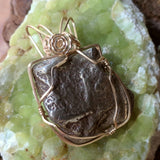 Mohawkite Wire Wrapped Pendant~ WRGFMOHA