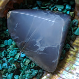 Blue Chalcedony-Polished~ CRPBCH11