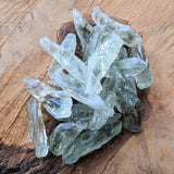 Prasiolite (Green Amethyst) Crystal Shards~CRPGACRS