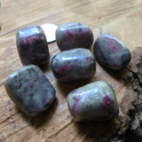 Tumbled Ruby in Corderite~TUMRBYCD