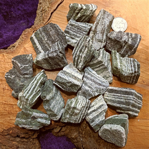 Chrysotile in Serpentine Natural chunk~CRCSRNAT