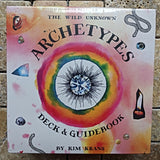 The Wild Unknown Archetypes Deck and Guidebook~ Kim Krans