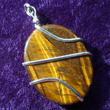 Tiger Eye Pendant~JSPWRTE1