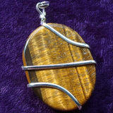 Tiger Eye Pendant~JSPWRTE3