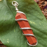 Red Jasper Point Pendant~JSPWRRP2